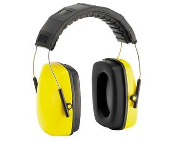 gelber Kapsel-Gehörschutz