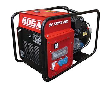 rotes Stromerzeuger-Gerät